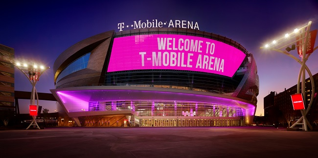 T-Mobile Arena Boxing Alvarez vs Jacobs