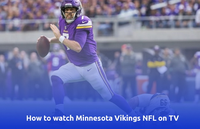 Minnesota Vikings NFL on TV