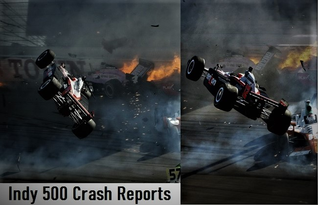 Indy 500 Crash Reports